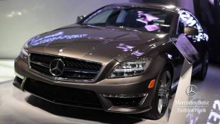 Mercedes-Benz CLS63 AMG US Version 2012 Videos