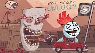 Troll Face Quest Unlucky + Sports Walkthrough All Secret Levels