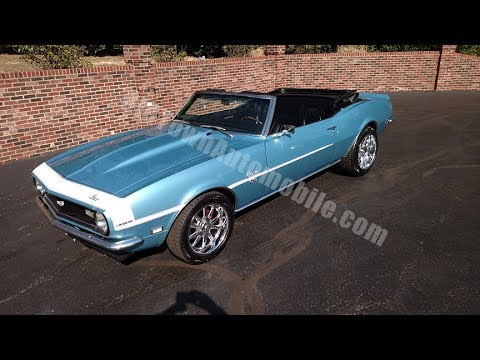 1968 Chevrolet Camaro Convertible For Sale Old Town
