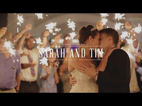 WHOLE HEART STUDIOS WEDDING FILM   SARAH AND TIM   HARRINGTON ON THE BAY