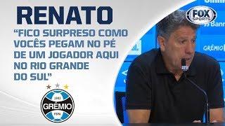 GRÊMIO PERDE PARA O FLAMENGO NA ARENA! Renato fala ao vivo