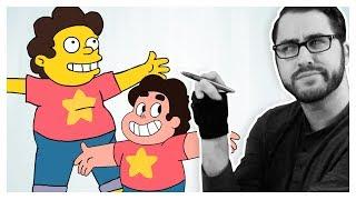 Dibujo de Personajes de dibujos animados de dibujos animados de Diferentes Estilos!