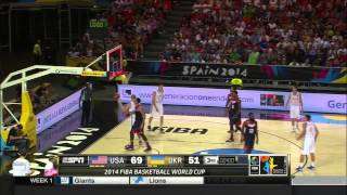 Basketball Word Champion USA VS Ukraine 2nd Half