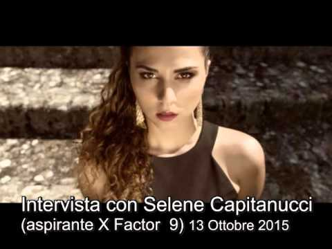 SELENE CAPITANUCCI (aspirante X Factor 2015),   a Radio Galileo