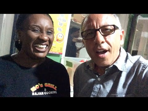 Barbados And MO's Grill In Oistins Barbados - The Queen Of FISH FRY - Frank Mazzuca | Family Style