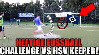 HEFTIGE FUßBALL CHALLENGE GEGEN HSV KEEPER! - REALFIFA VS PROOWNEZ VS WAKEZ!