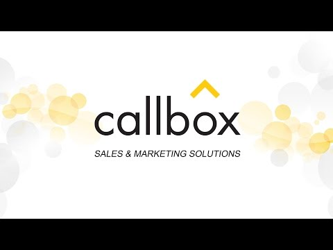 The No. 1 Sales Leads Generation Company - About Callbox