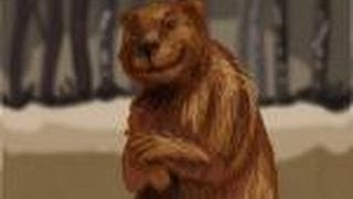 How to draw Mr. Beaver from Narnia