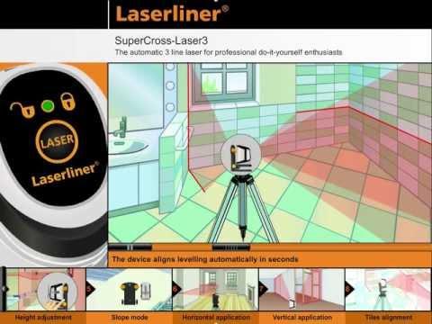 Лазерен нивелир LASERLINER SuperCross-Laser 3 #GRPejin8bAw
