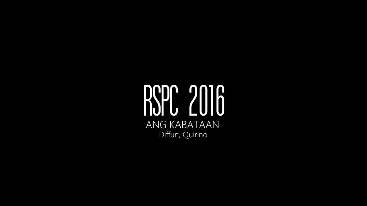 RSPC 2016 - RADIO BROADCASTING (FILIPINO)