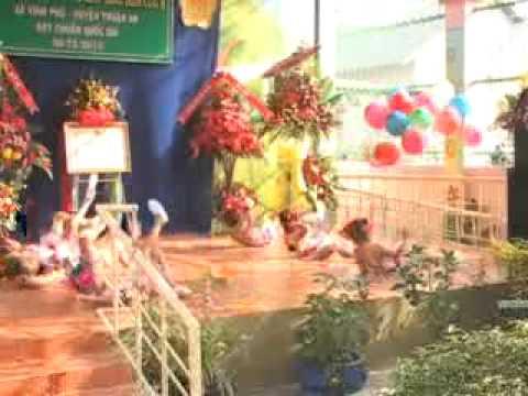 Lễ công nhận trường MG Hoa Cúc 8 đạt chuẩn Quốc Gia