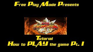 Fire Pro Wrestling World - How to actually PLAY the game Pt. 1