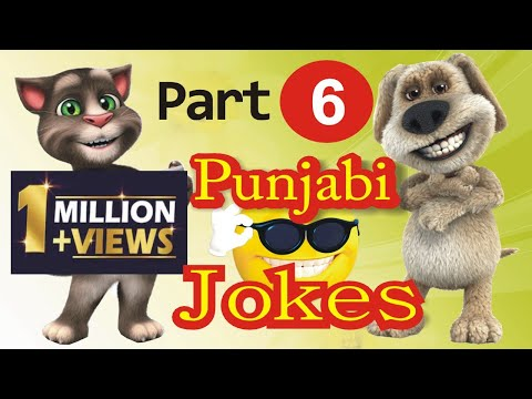 Funny Jokes   in Punjabi Talking Tom & Ben News Episode 6