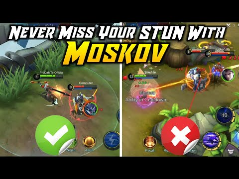 How to use MOSKOV'S STUN PROPERLY | TIPS & TRICKS Guide | Mobile Legends Bang Bang thumbnail