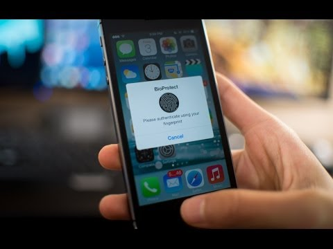 BioProtect - Lock Apps with Touch ID Fingerprint Sensor of the iPhone 5s!