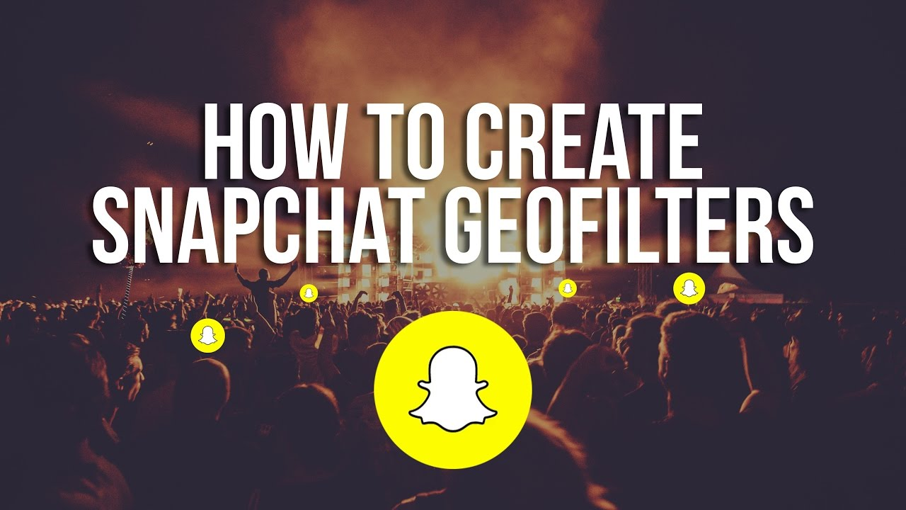 how to get snapchat geofilters anywhere