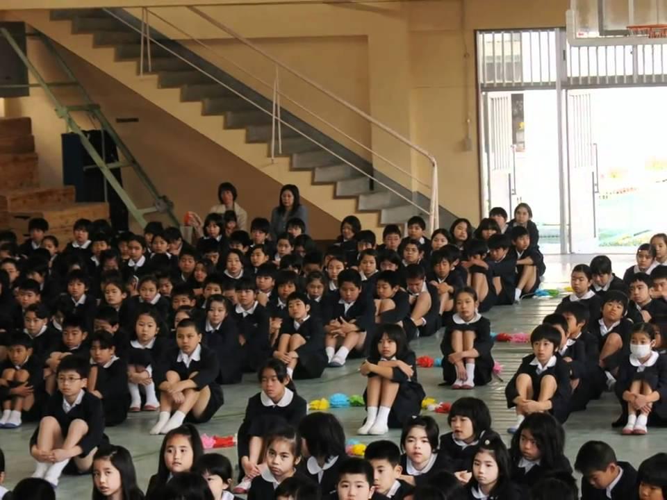 奄美小学校 2011 03 29 辞任式