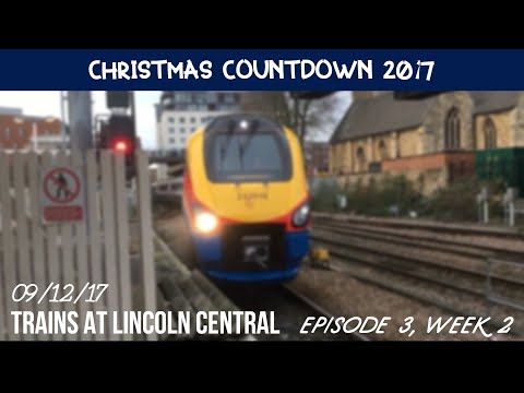 (1080p) Christmas Countdown - Episode 3, Week 2 | A couple of Minutes at Lincoln Central (09/12/17)