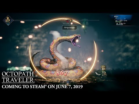 Square Enix is asking a full $60 for Octopath Traveler on Steam