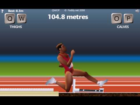 how to run in qwop