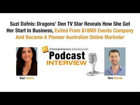 Suzi Reveals How She Exited From $18Mil Events Company And Pioneered Australian Online Marketer Video