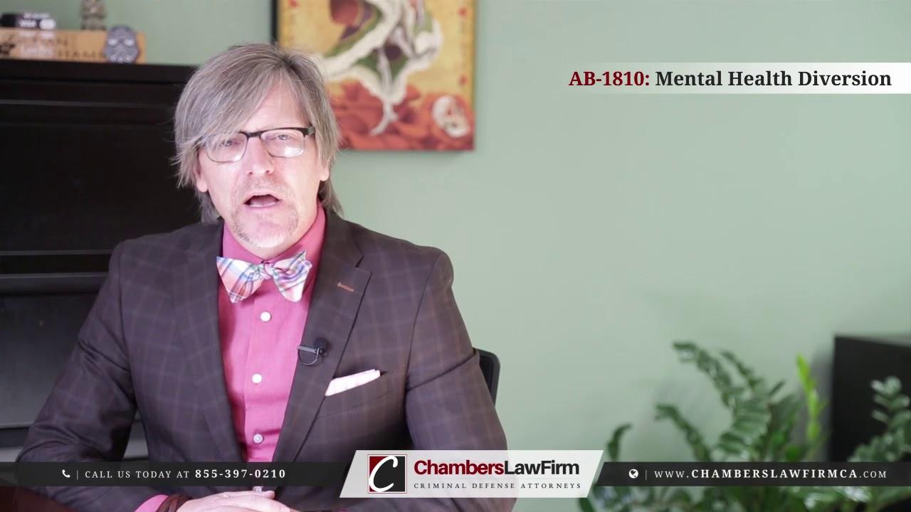 AB-1810: Mental Health Diversion