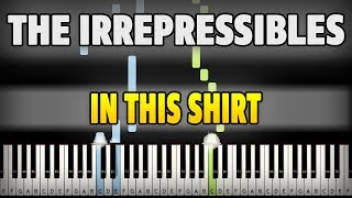 The Irrepressibles - In This Shirt Piano Cover [Synthesia Piano Tutorial]