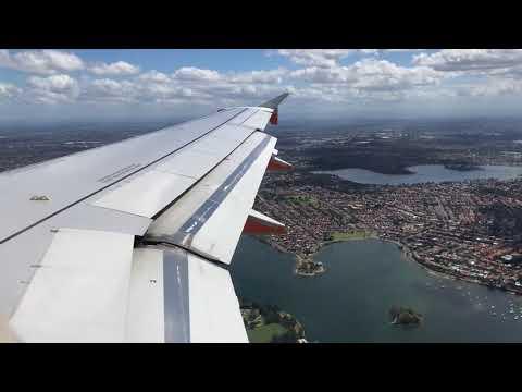Jetstar Airways Flight JQ512 Melbourne To Sydney Australia Landing - 7th March 2018