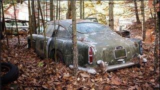 Tìm thấy chiếc xe hỏng hóc nặng bị bỏ rơi giữa rừng 40 năm, không ngờ giá trị của nó khiến....!!!