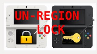HOW TO EASY UN-REGION LOCK 3DS!!!