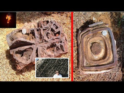 Ancient Spaceship Fragments Found In Oklahoma?