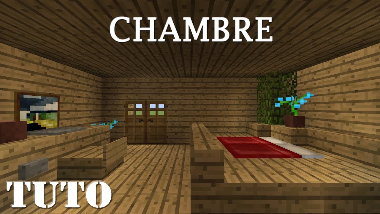 MINECRAFT - Comment faire une belle chambre (ps4) - YouTube