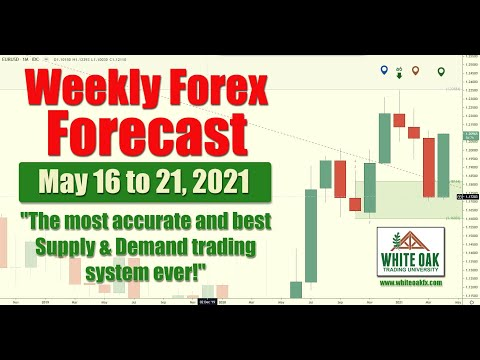 🔴 Weekly Forex Forecast - GOLD OIL $EURUSD $GBPUSD  - BEST SUPPLY & DEMAND - May 16th to 21st 2021