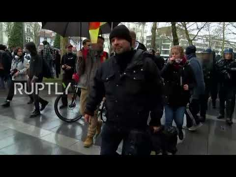 France: Tensions high as protesters march against eviction of ZAD squatters in Nantes