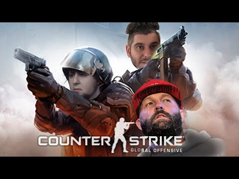 JonTron and h3h3 play CS:GO