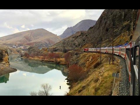 Ankara'dan Erzurum'a Doğu Ekspresi / Traveling through Estern Turkey by train
