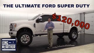 ULTIMATE OFF ROAD TRUCK - $120,000 FORD SUPER DUTY