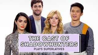 Shadowhunters Cast Reveals Who Might Secretly be a Shadowhunter and More | Superlatives