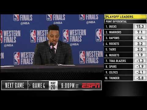 CJ McCollum Press Conference | Western Conference Finals Game 3