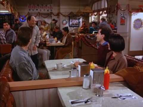 Great Scenes in TV History - George & Jerry Conspire About The Race (Seinfeld)