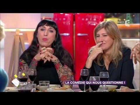 Amanda Sthers et Rossy de Palma au dîner - C à Vous - 21/11/2017