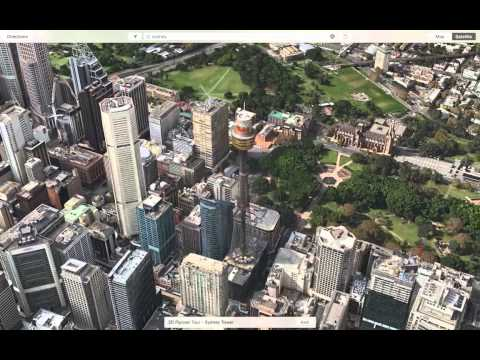 Apple Maps Flyover For Sydney, Australia