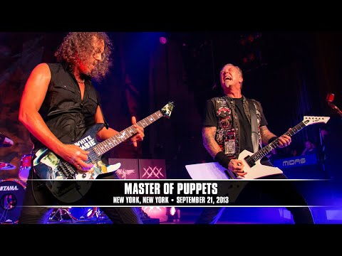 Metallica: Master of Puppets (MetOnTour - Apollo Theater, NYC - 2013)