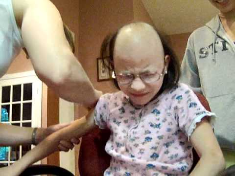 Juliana Carver Getting Neupogen Shot (Sept 8, 2011)