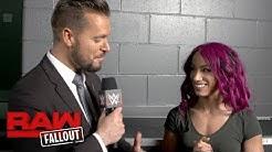 Sasha Banks is out for retribution next Monday night: Raw Fallout, Aug. 7, 2017