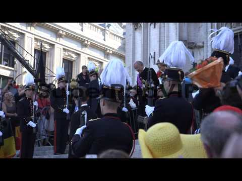 Abdication Of King Albert II Of Belgium, and Coronation o...