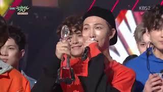 Congratulation BTS! #FAKELOVE1stWin Music Bank Full winning speech + Encore Stage