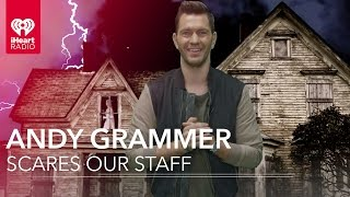 Andy Grammer Scares our Staff!