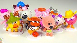 Видео для детей Игрушки Киндер Сюрпризы Мультики Ми Ми Мишки Смешарики Мультфильмы для детей
