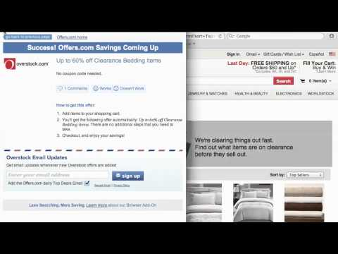 Overstock Coupon Code 2013- How To Use Promo Codes And Coupons For Overstock.com